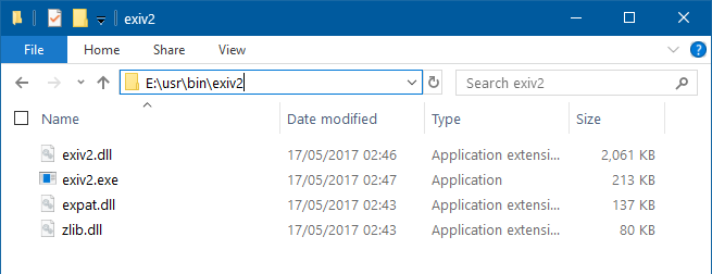 How can I integrate EXIV2 with FileLocator Pro to search
